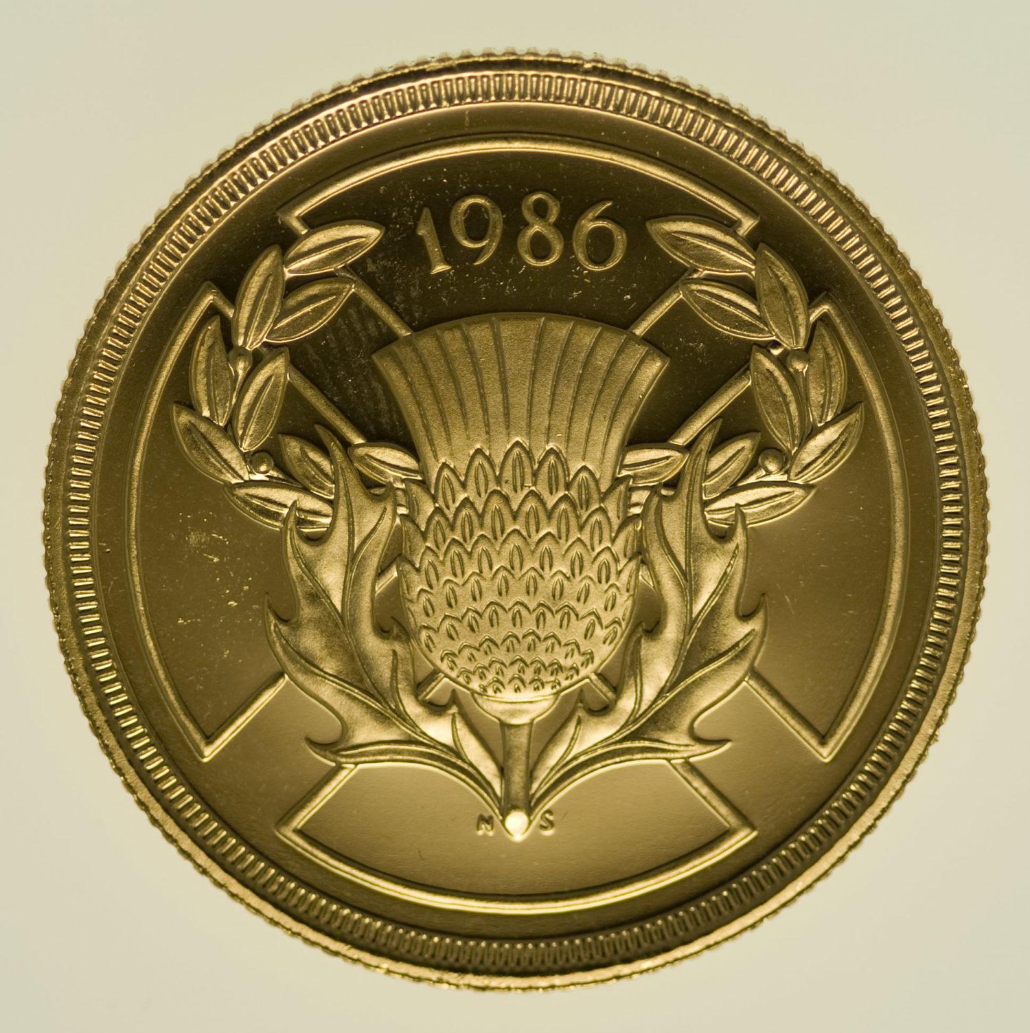 grossbritannien - Großbritannien Elisabeth II. 2 Pounds 1986