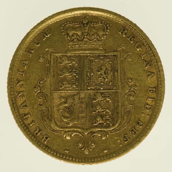 grossbritannien - Großbritannien Victoria 1/2 Sovereign 1884