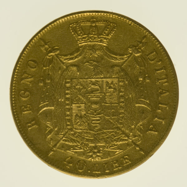 italien - Italien Napoleon 40 Lire 1812 M