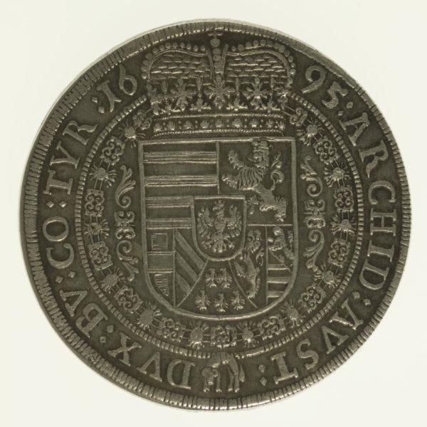 oesterreich-silbermuenzen-uebriges-europa - Österreich Habsburg Leopold I. Taler 1695