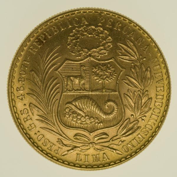 peru - Peru 100 Soles 1964