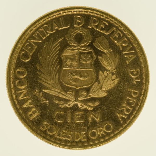 peru - Peru 100 Soles 1965