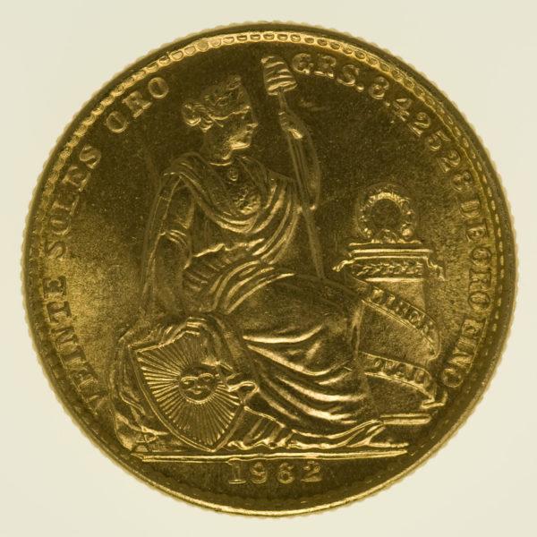 peru - Peru 20 Soles 1962