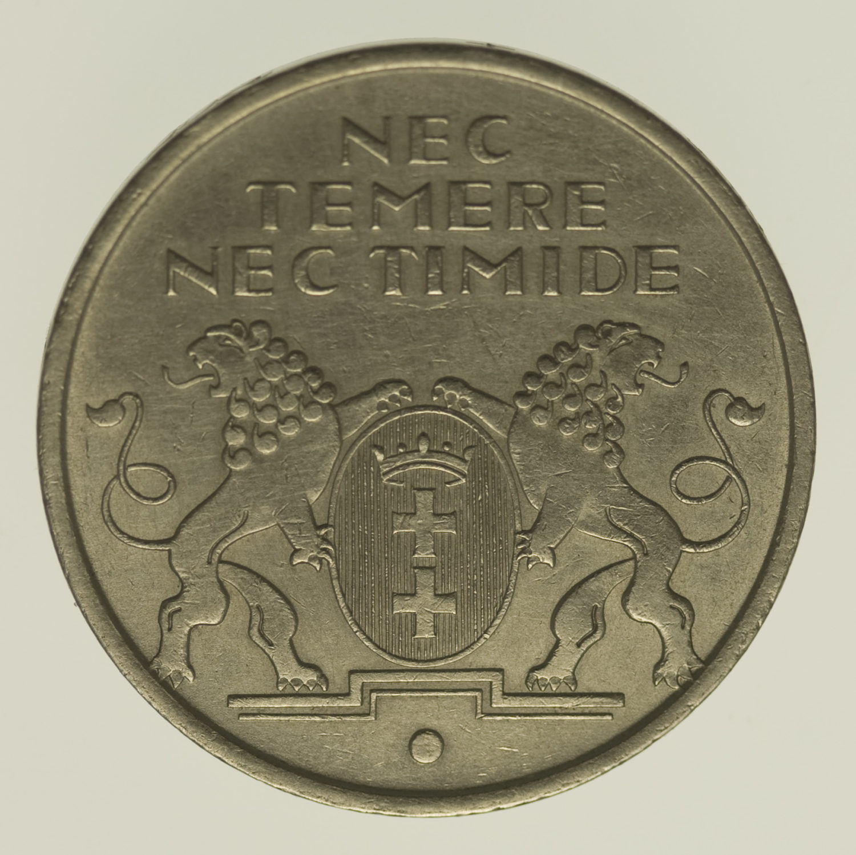 polen-silbermuenzen-uebriges-europa - Polen Danzig 10 Gulden 1935