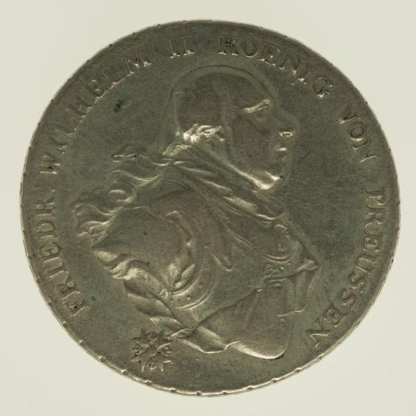 altdeutschland-deutsche-silbermuenzen - Preussen Friedrich Wilhelm II. Taler 1795