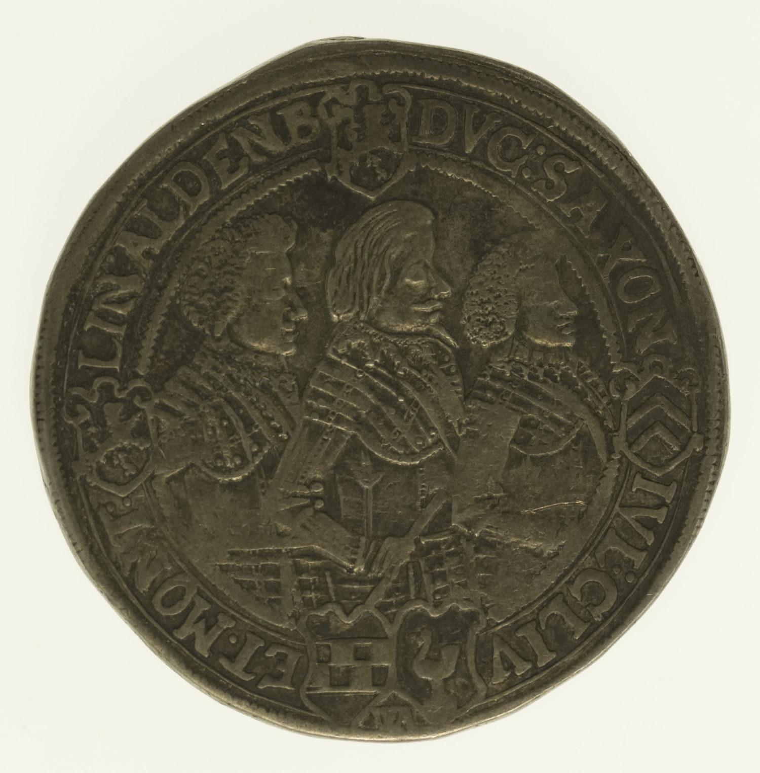 altdeutschland-deutsche-silbermuenzen - Sachsen Altenburg Johann Philipp und seine 3 Brüder Taler 1623