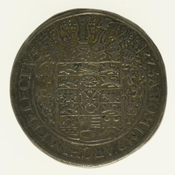 altdeutschland-deutsche-silbermuenzen - Sachsen Johann Georg I. Taler 1627