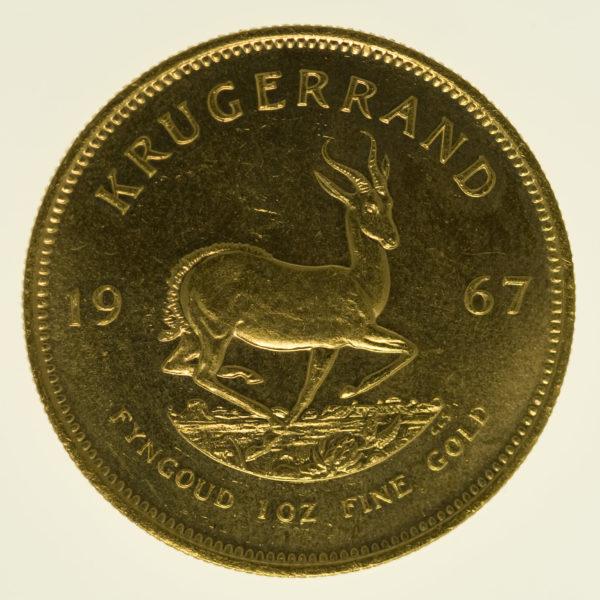 suedafrika - Südafrika Krügerrand 1 Unze 1967