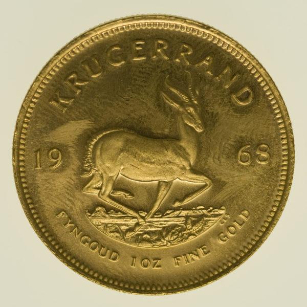 suedafrika - Südafrika Krügerrand 1 Unze 1968