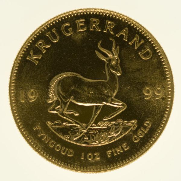 suedafrika - Südafrika Krügerrand 1 Unze 1999