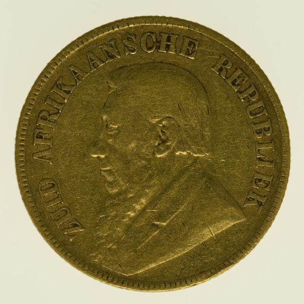 suedafrika - Südafrika 1 Pond 1896