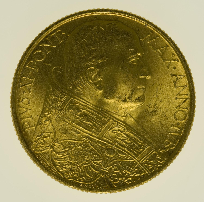 vatikan - Vatikan Pius XI. 100 Lire 1933 / 1934