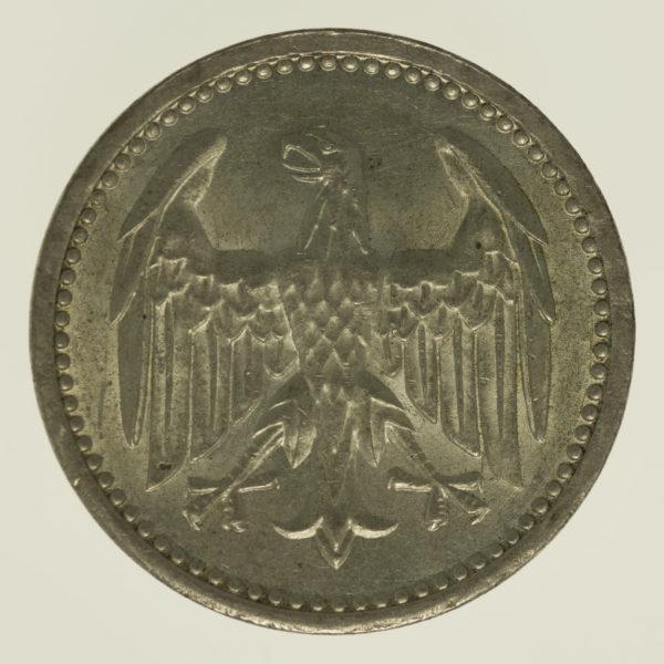 weimarer-republik-deutsche-silbermuenzen - Weimarer Republik 3 Mark 1924 A