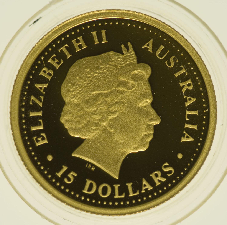 australien - Australien Elisabeth II. Lunare Schlange Set 2001