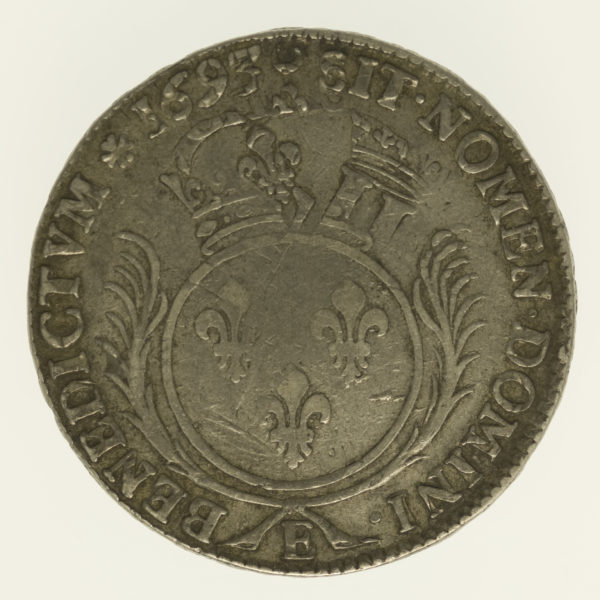 frankreich-silbermuenzen-uebriges-europa - Frankreich Ludwig XIV. Ecu 1693 E