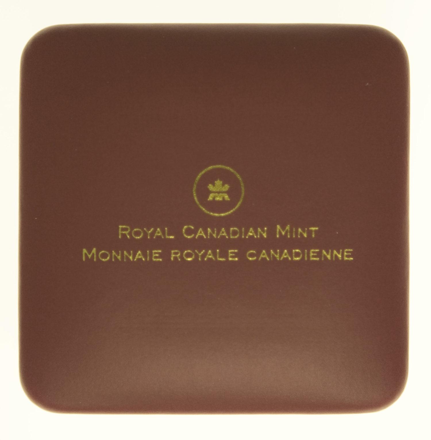 kanada - Kanada Elisabeth II. 5 Dollars Cougar 2014
