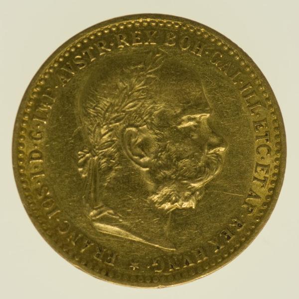 oesterreich - Österreich Kaiserreich Franz Joseph I. 10 Kronen 1896