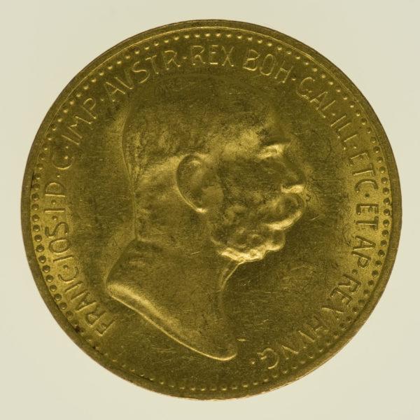 oesterreich - Österreich Kaiserreich Franz Joseph I. 10 Kronen 1909