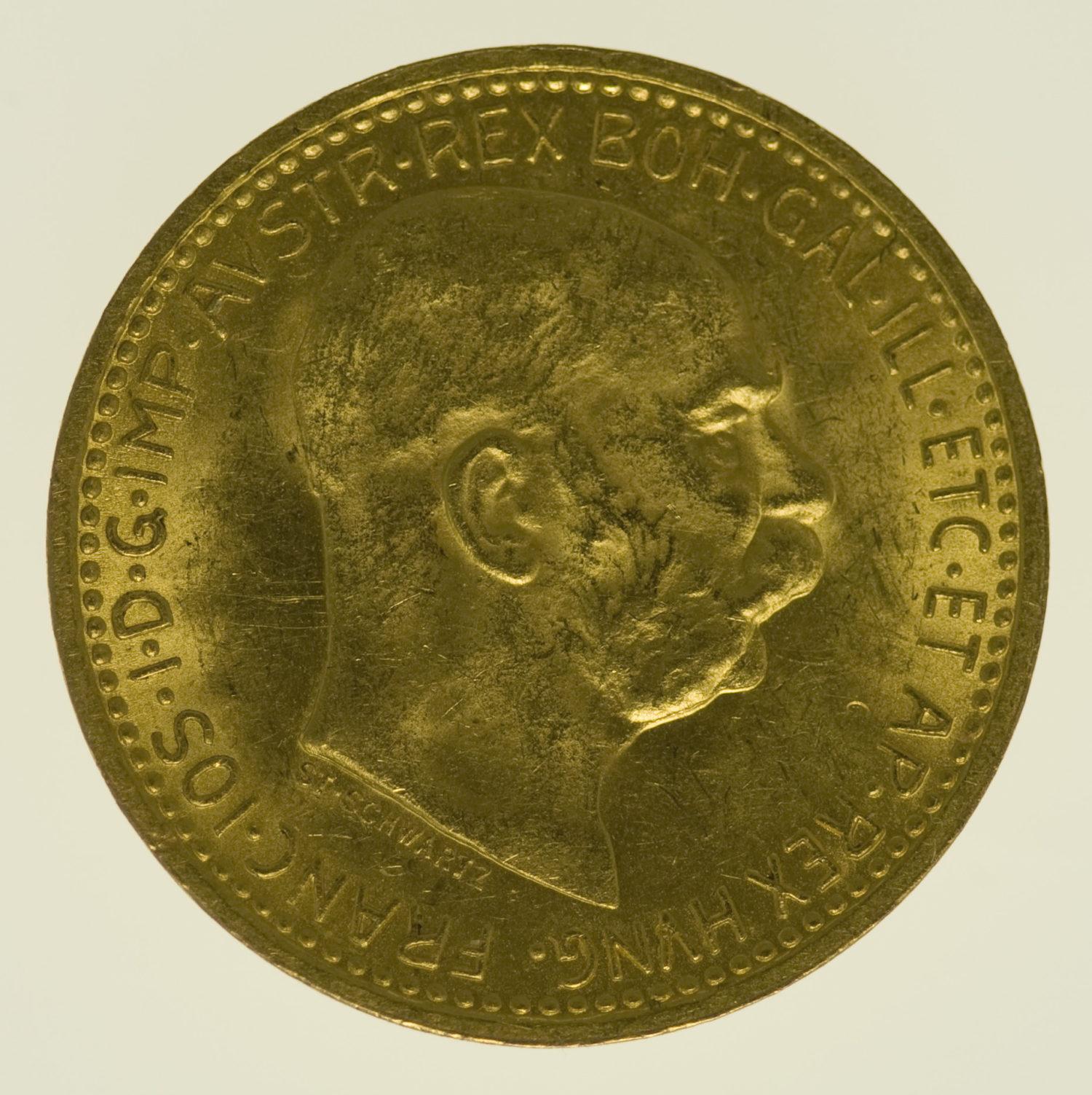 oesterreich - Österreich Kaiserreich Franz Joseph I. 10 Kronen 1911