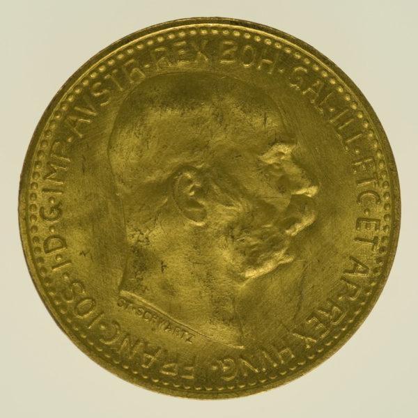 oesterreich - Österreich Kaiserreich Franz Joseph I. 10 Kronen 1912