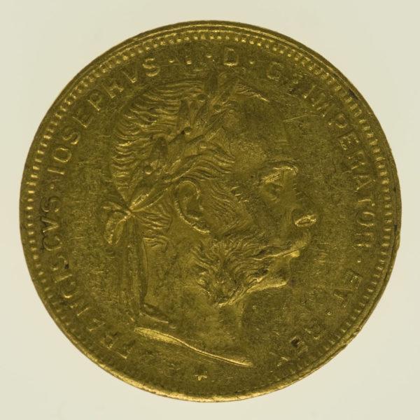 oesterreich - Österreich Kaiserreich Franz Joseph I. 8 Florin 1888