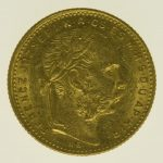 ungarn, oesterreich - Österreich Kaiserreich Franz Joseph I. 8 Forint 1884