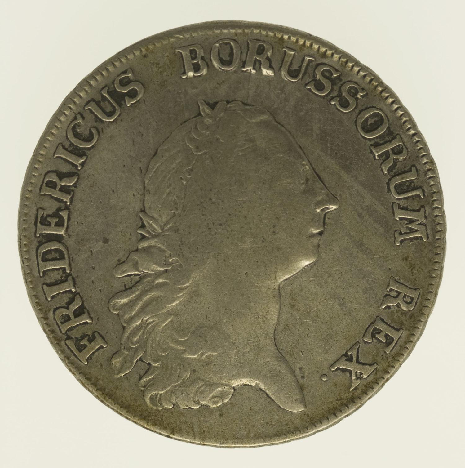 altdeutschland-deutsche-silbermuenzen - Preussen Friedrich II. Taler 1769