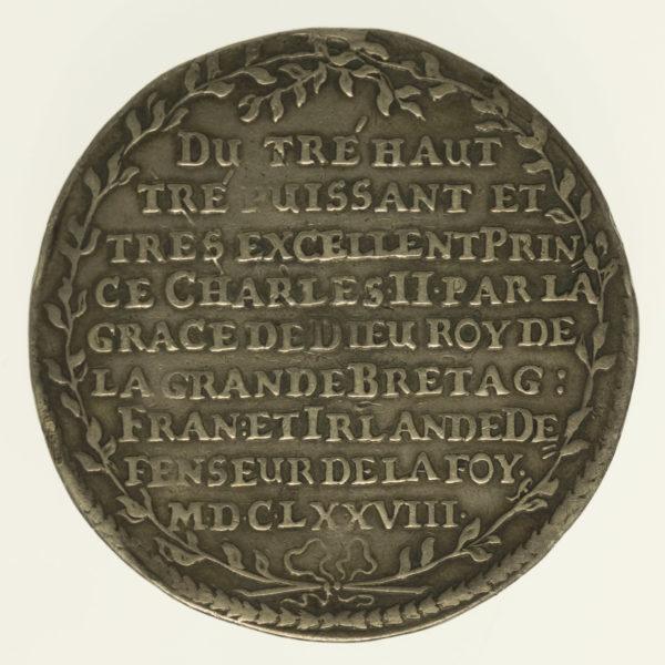 altdeutschland-deutsche-silbermuenzen - Sachsen Johann Georg II. Schautaler 1678