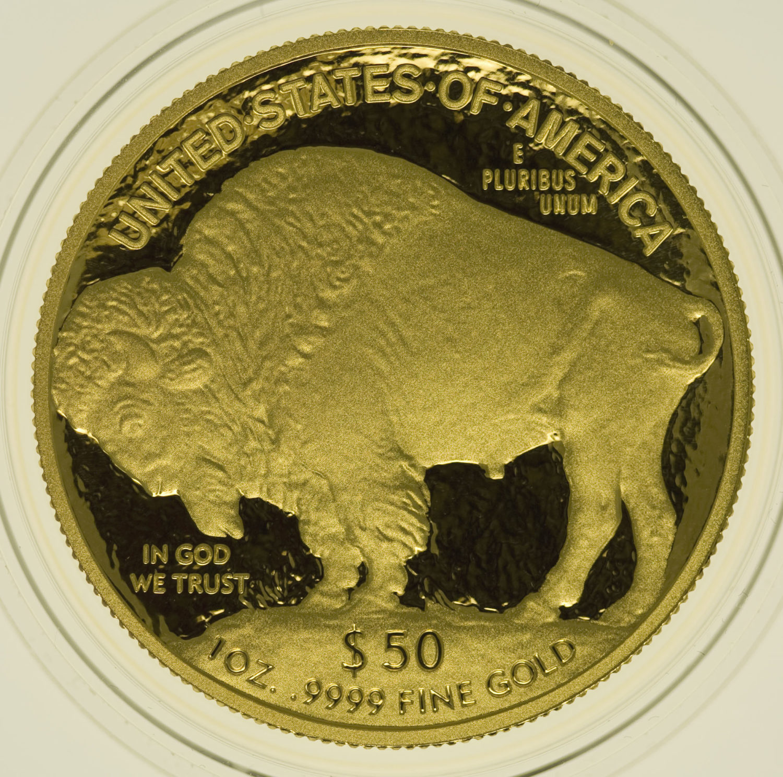 usa - USA 50 Dollars 2009 American Buffalo