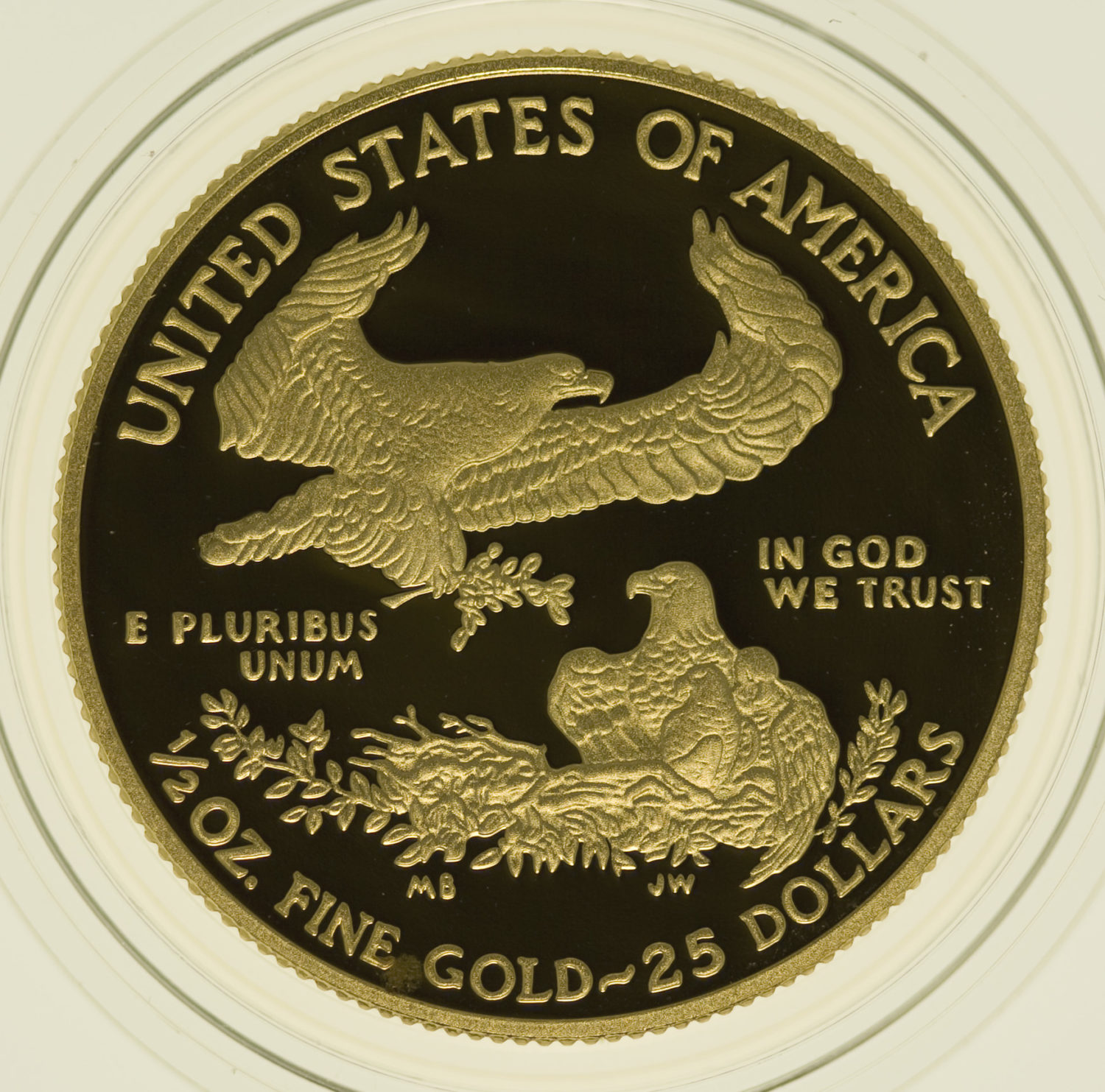 usa - USA 25 Dollars 2001 American Eagle Proof