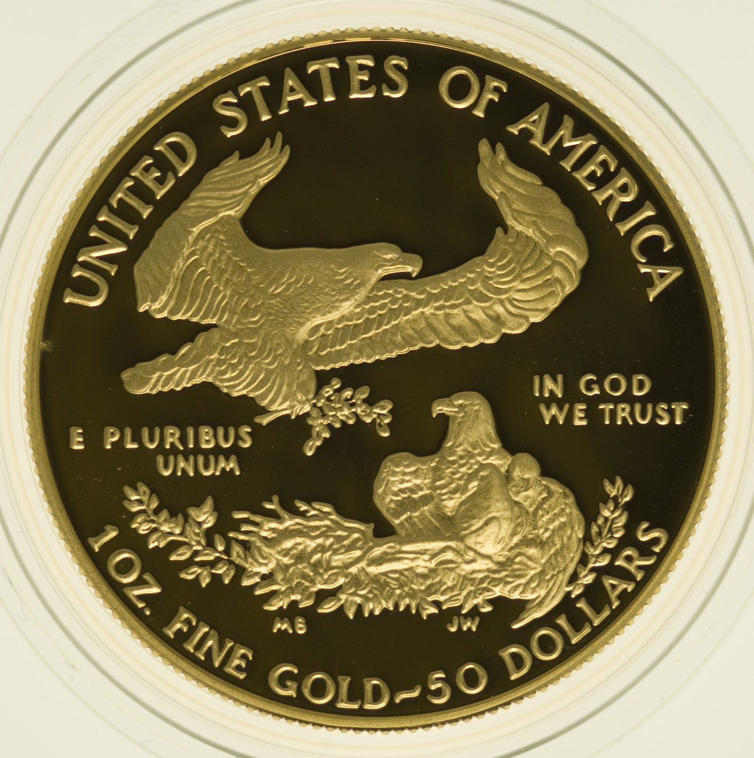 usa - USA 50 Dollars 1989 American Eagle Proof