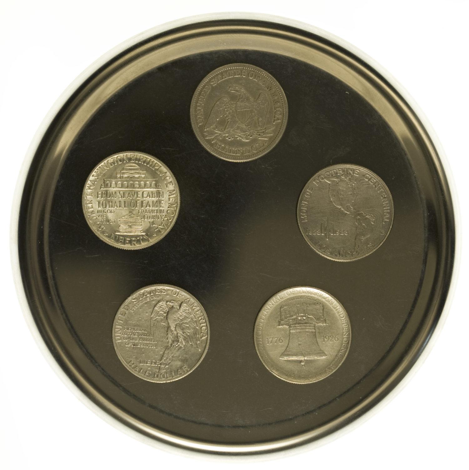 weitere-silbermuenzen - USA Münzen Lot Half Dollar