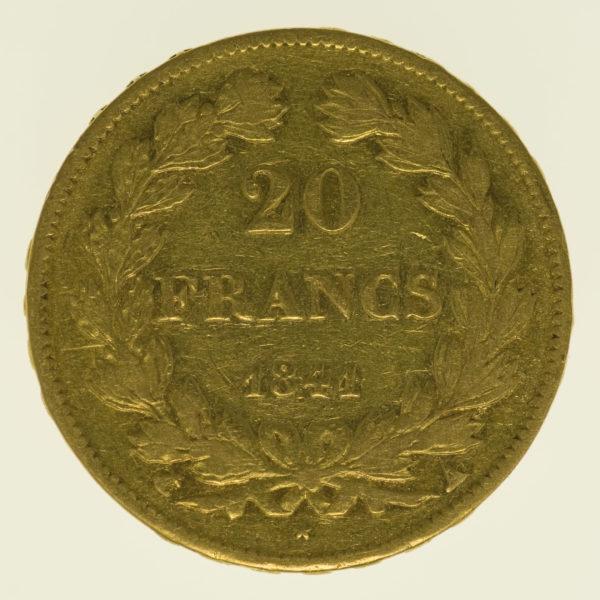 frankreich - Frankreich Louis Philippe I. 20 Francs 1841 A