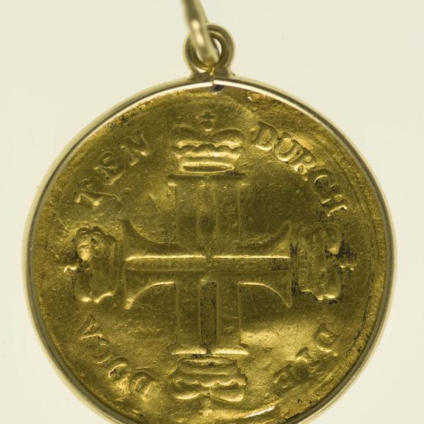italien - Hessen Darmstadt Ludwig VIII. Dukat o.J.