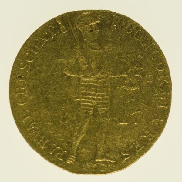 niederlande - Niederlande Wilhelm I. Dukat 1817