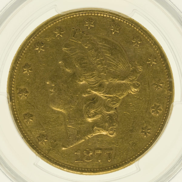 usa - USA 20 Dollars 1877 Liberty / Kopf