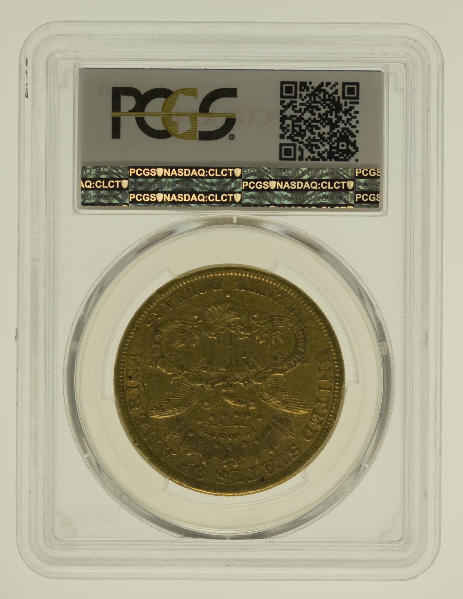 usa - USA 20 Dollars 1877 Liberty / Kopf
