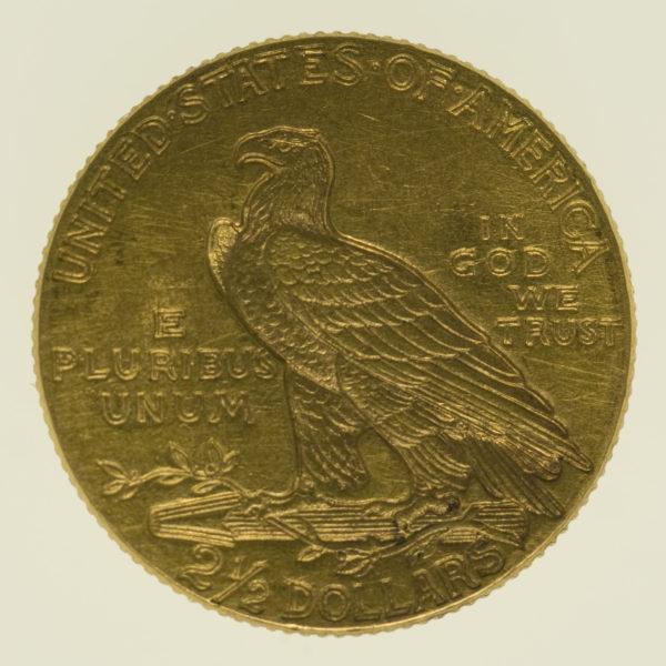 usa - USA 2,5 Dollars 1913 Indianer