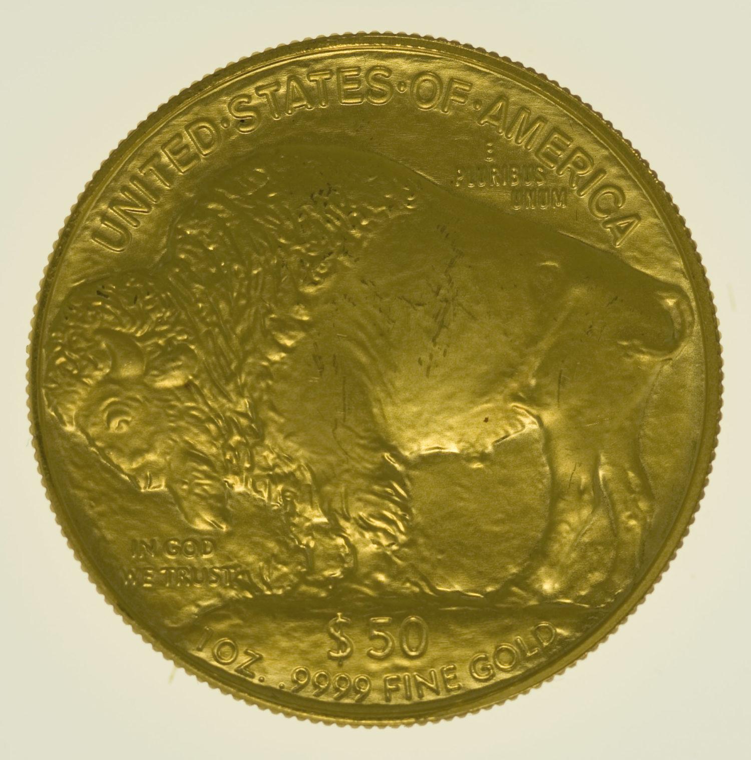 usa - USA 50 Dollars 2006 American Buffalo