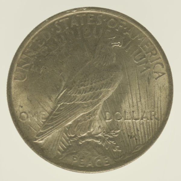 usa-silbermuenzen-uebrige-welt - USA Peace Dollar 1923