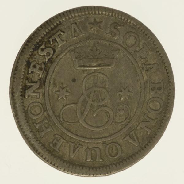 altdeutschland-deutsche-silbermuenzen - Braunschweig Calenberg Hannover Ernst August 4 Mariengroschen 1690