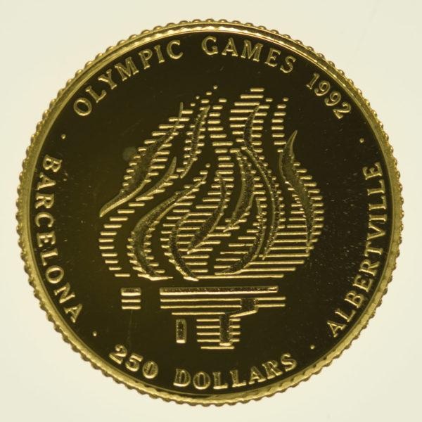 cook-islands - Cook Islands Elisabeth II. 250 Dollars 1991