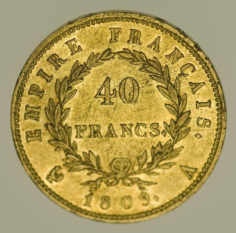 frankreich - Frankreich Napoleon I. 40 Francs 1809 A