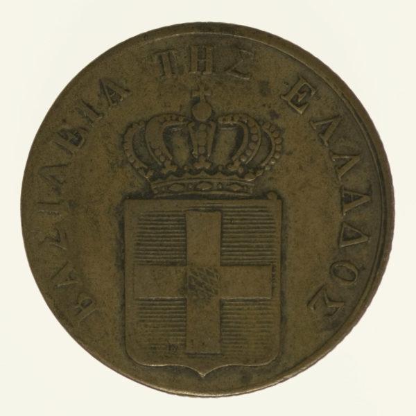 griechenland-silbermuenzen-uebriges-europa - Griechenland Otto I. 2 Lepta 1833
