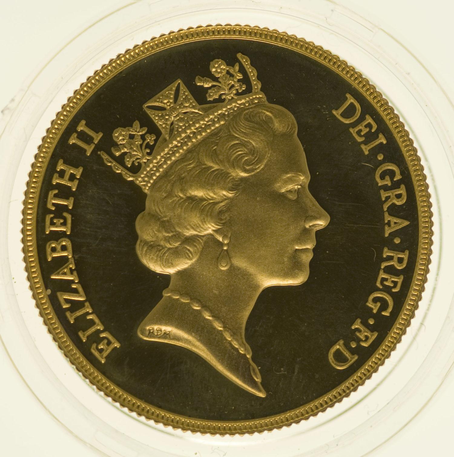 grossbritannien - Großbritannien Elisabeth II. 2 Pounds 1987