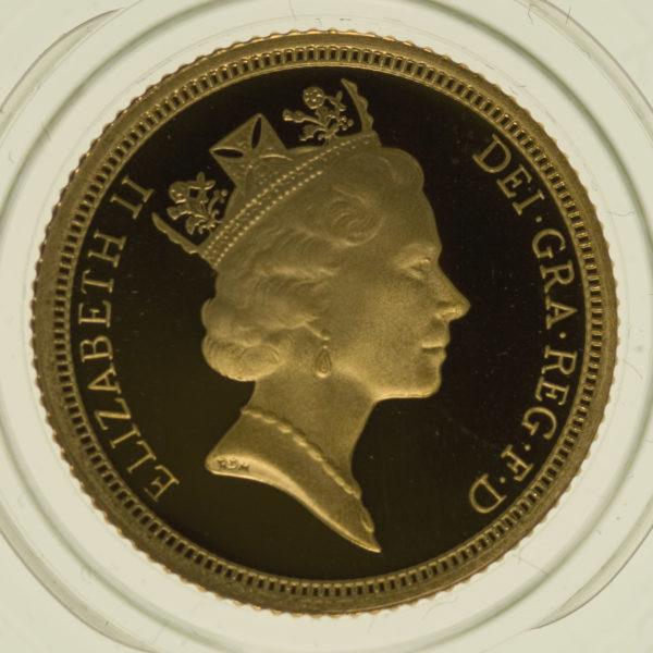 grossbritannien - Großbritannien Elisabeth II. Half Sovereign 1997