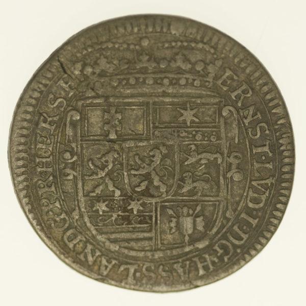 altdeutschland-deutsche-silbermuenzen - Hessen Darmstadt Ernst Ludwig 12 Kreuzer 1705