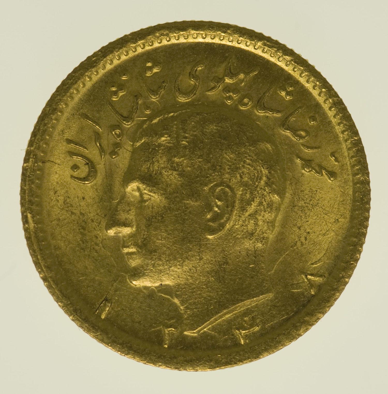 iran - Iran Mohammed Reza Shah 1/2 Pahlavi 1969