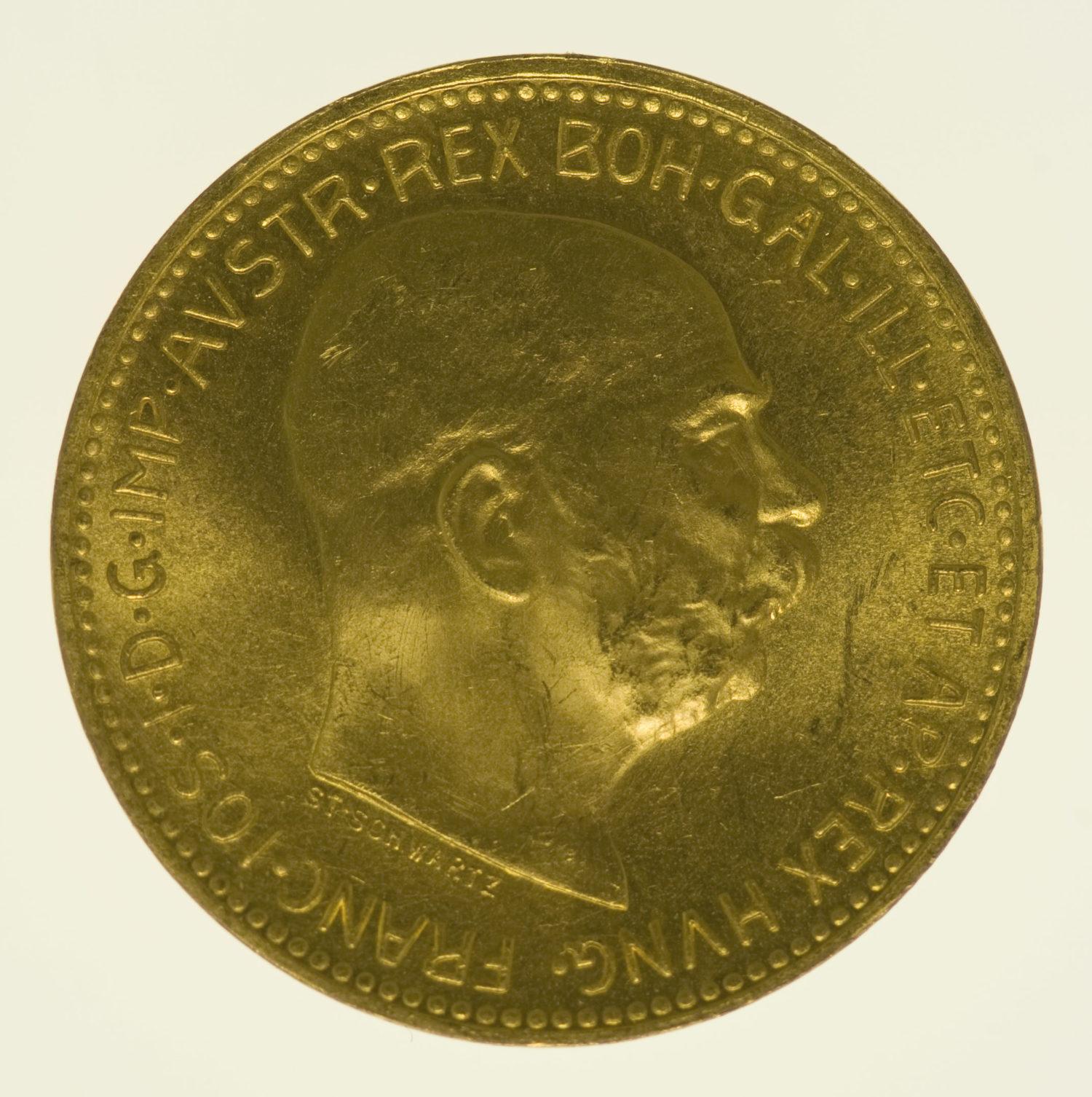 oesterreich - Österreich Kaiserreich Franz Joseph I. 20 Kronen1915