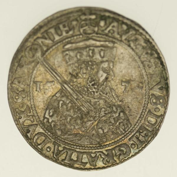 altdeutschland-deutsche-silbermuenzen - Sachsen August 1/4 Taler 1572